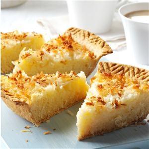Coconut Macaroon Pie Recipe
