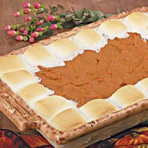 Mallow-Topped Sweet Potatoes Recipe