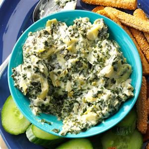 Slow Cooker Spinach & Artichoke Dip Recipe
