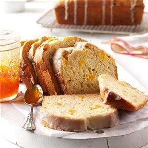 Apricot & Macadamia Eggnog Bread Recipe