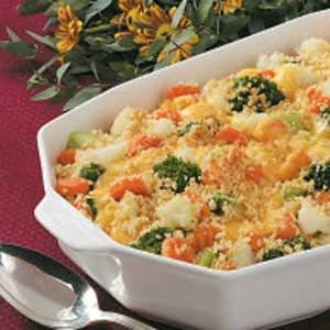 Colorful Veggie Bake Recipe