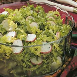 Endive Salad with Potatoes