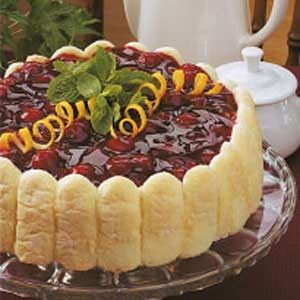 Cherry Cheese Torte