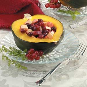 Fruit-Stuffed Acorn Squash Recipe