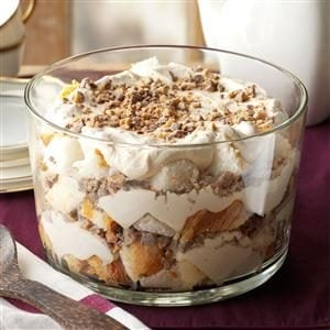 Caramel Fluff & Toffee Trifle Recipe