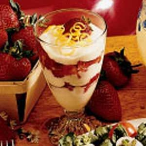 Strawberries with Lemon Cream Recipe