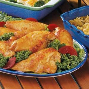 Marinated Baked Chicken