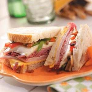 Grilled Deli Sandwiches Recipe