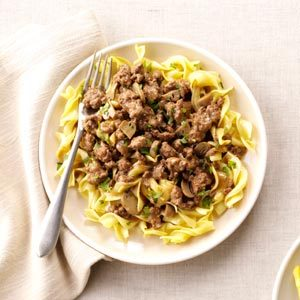 Savory Beef and Noodles Recipe
