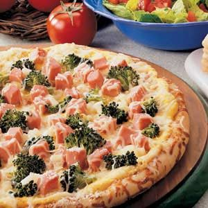 Ham 'n' Broccoli Pizza Recipe