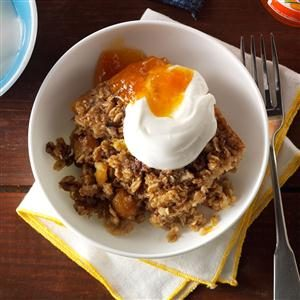 Spiced Apricot Baked Oatmeal Recipe
