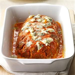 Buffalo Blue Cheese Meat Loaf Recipe