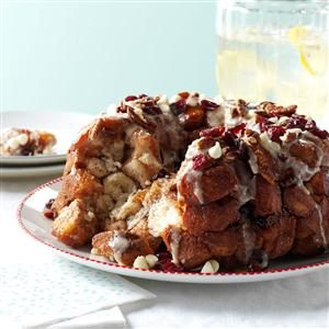 Cranberry Chip Monkey Bread Recipe