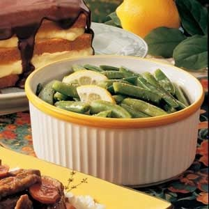 Zesty Sugar Snap Peas Recipe