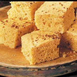 Spicy Corn Bread Squares