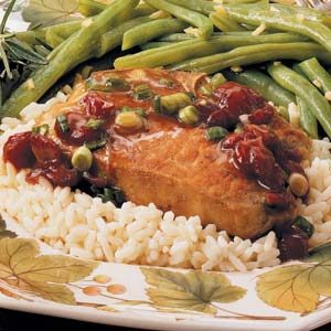 Quick Cranberry Pork Chops Recipe