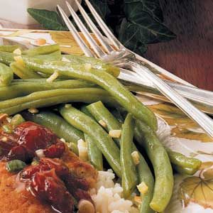 Savory Garlic Green Beans Recipe