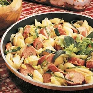 Smoked Sausage Skillet Recipe
