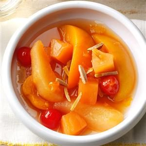 Slow Cooker Spiced Fruit Recipe