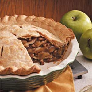 Walnut Apple Pie