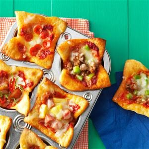 Mini Pizza Muffin Cups Recipe