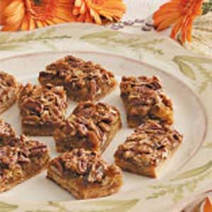Pecan Squares Recipe photo by Taste of Home