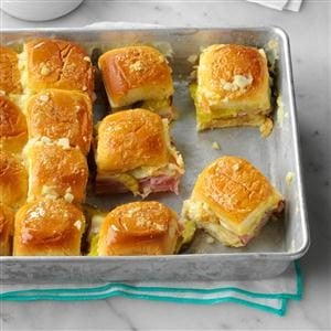 Cuban Sliders Recipe
