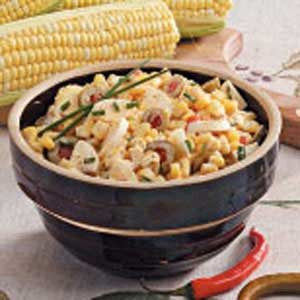 Olive Corn Salad Recipe