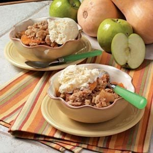 Apple and Squash Crisp Recipe