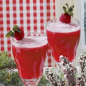 Pineapple Strawberry Punch Recipe