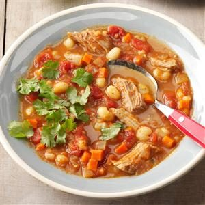 Slow Cooker Pork Pozole Recipe