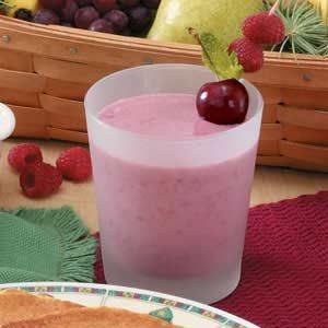Cherry Berry Smoothies Recipe