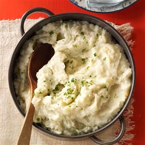 Nanny's Parmesan Mashed Potatoes