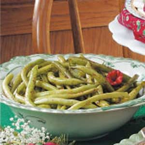 Seasoned Green Beans Recipe