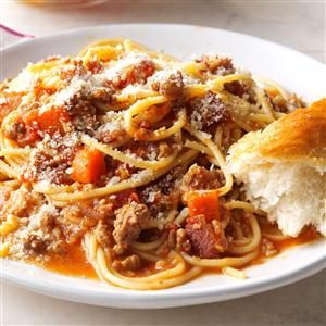 Bacon Bolognese Recipe