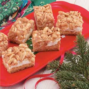 Contest-Winning Peanut Mallow Bars Recipe
