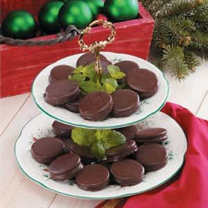 Mint Sandwich Cookies Recipe