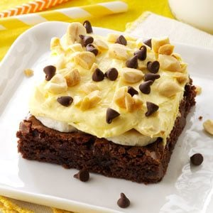 Banana Cream Brownie Dessert Recipe