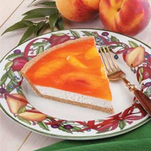 Peachy Cream Pie Recipe
