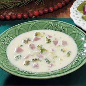 Ham 'n' Swiss Soup Recipe