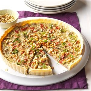 Asiago Beef Tart Recipe
