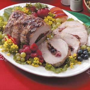 Berry Pretty Pork Roast Recipe