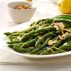 Lemon Almond Asparagus Recipe