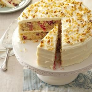 Cranberry Layer Cake