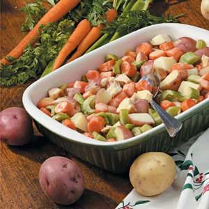 Vegetable Chicken Casserole Recipe