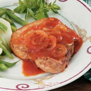 Pork Chops in Tomato Sauce Recipe