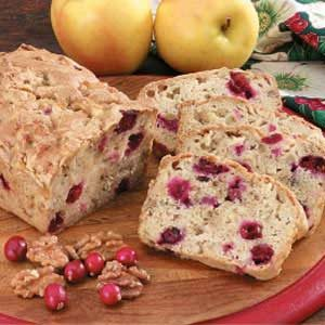 Apple Cranberry Bread Recipe