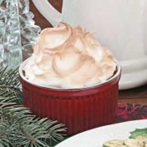Meringue Pudding Cups Recipe