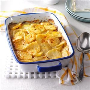 Honey Mustard Potato Gratin Recipe