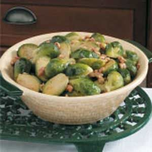 Nutty Brussels Sprouts Recipe